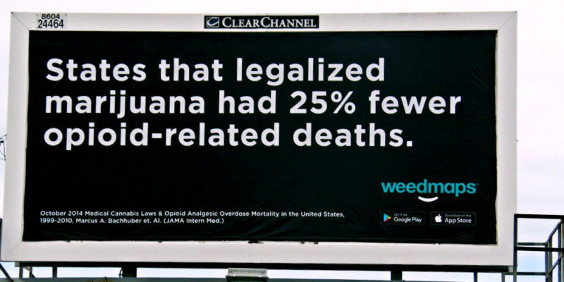 Indiana NORML seeks to combat the state's opioid crisis with commonsense cannabis billboards